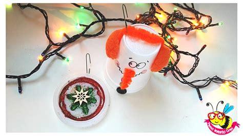 pupazzo di neve fatto con i bicchieri di plastica come trasformare il bicchiere termico caff 232 in un