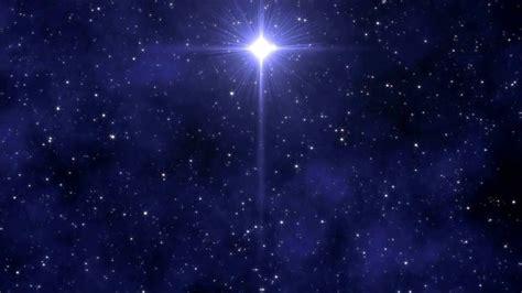 bethlehem star midnight clear video background loop