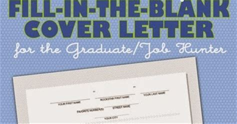 Fill In The Blank Cover Letter Free by Bnute Productions Free Printable Fill In The Blank