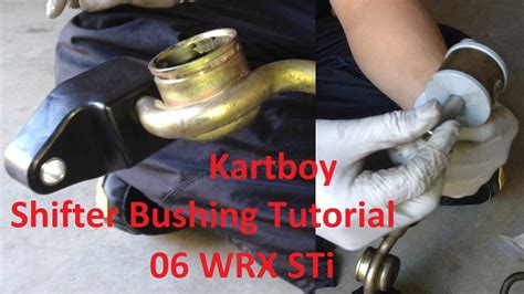 tutorial kartboy front  rear shifter bushings