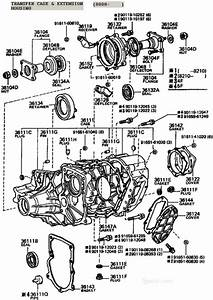 Toyota Transfer Case Diagram