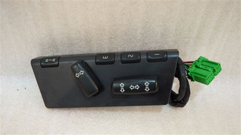 volvo  xc front driver seat control switch propel