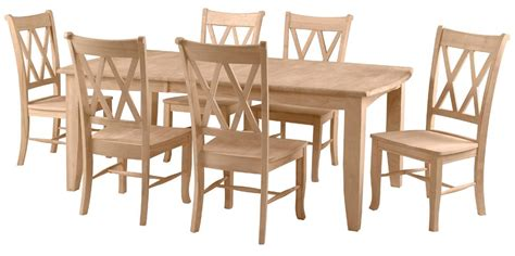 john thomas select dining bow  shaker leg table