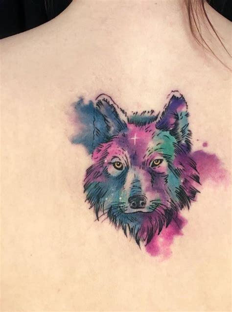 tatouage aquarelle dos