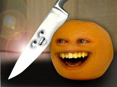 annoying orange    knife guy youtube