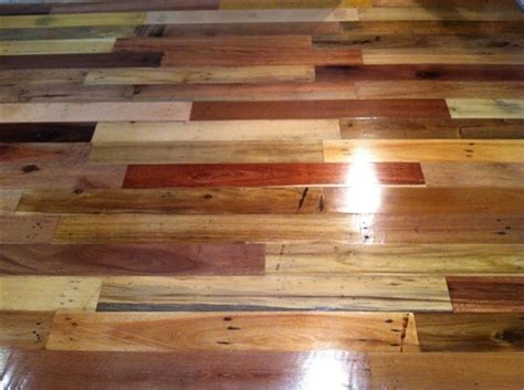 how to make a wood floor pallet wood floor 17
