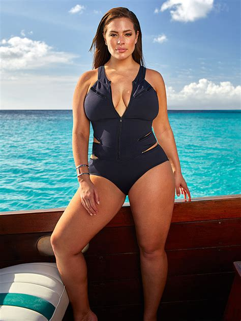 ashley williams swimsuit see ashley graham model her new swimwear collection