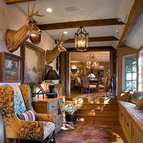 carolina cabin designed  charles faudree traditional home