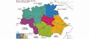 Carte Du Gers Détaillée : carte du gers voyages cartes ~ Maxctalentgroup.com Avis de Voitures