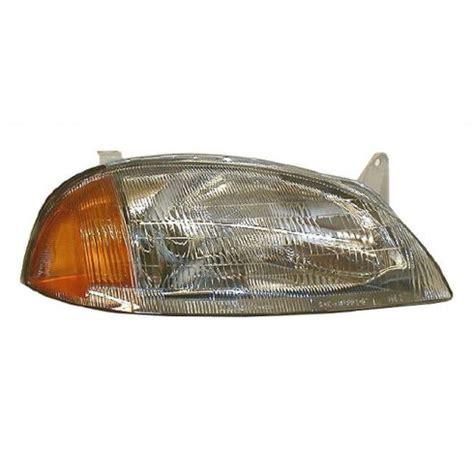 1995 97 geo metro pontiac firefly headlight passenger side