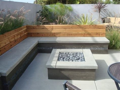 modern patio decorating ideas best 25 square pit ideas on pit