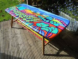 Pin, On, Hand, Painted, Furniture