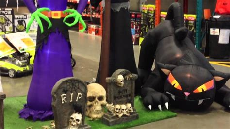 Halloween Decoration At Home Depot