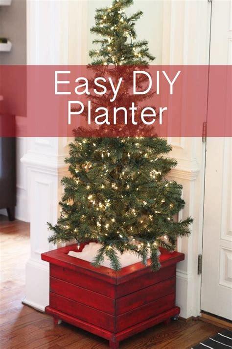 diy christmas tree planters bower power blog diy