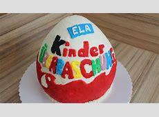 Kinder Überraschungs Torte ÜEi aus Sahne selber machen