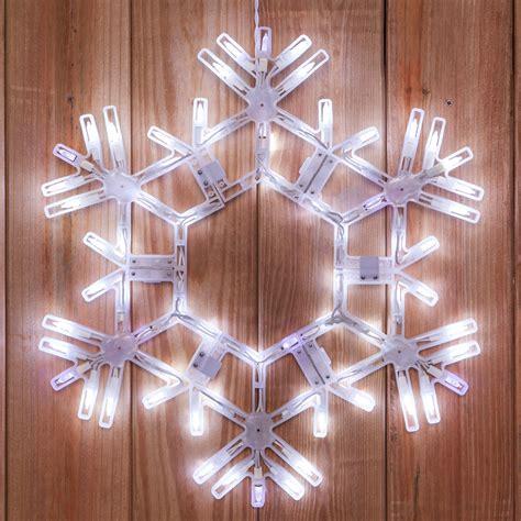 snowflakes stars  led folding snowflake cool white