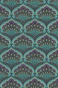 die 25 besten ideen zu tapete turkis auf pinterest With balkon teppich mit tapete barock türkis