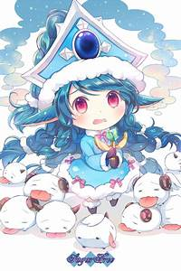 [LOL] Lulu and Poro 4 by kamuikaoru on DeviantArt
