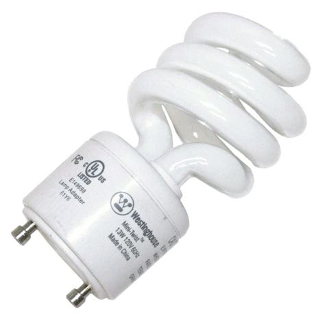 twist and lock light bulb westinghouse 37990 13minitwist gu24 27 twist style twist