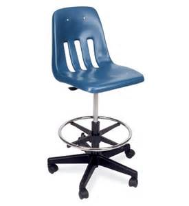 Lab Chairs With Wheels by Virco 9000 Series Adjustable Height Lab Stool With Soft