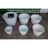 jual vas  pot bunga pot plastik besar glory   warna
