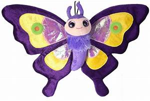 Purple Butterfly Stuffed Animal Plush Butterfly Toys