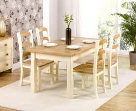 HD wallpapers cream pine dining set