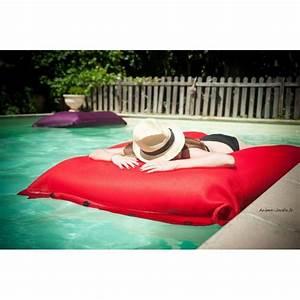 Coussin Exterieur Pas Cher : grand coussin piscine pouf 125x175 cm shelto pas cher ~ Premium-room.com Idées de Décoration