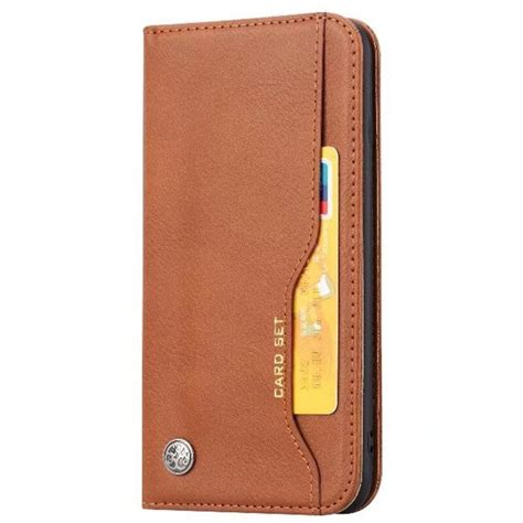 Slide the case down to reveal a glass mirror. Wallet Credit Card Slot Flip Cover Leather Case For iPhone 8 7 6 6S Plus Anti knock Phone Cases ...
