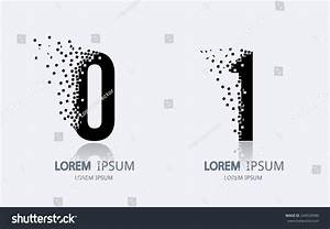Number 0 And 1 Logo Vector Logotype Design 244539490