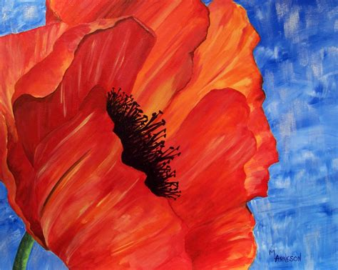 easy paintings daily painters of colorado quot taste of summer quot acrylic paintings by colorado artist mary arneson