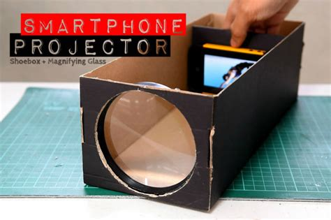 smartphone projector   shoebox