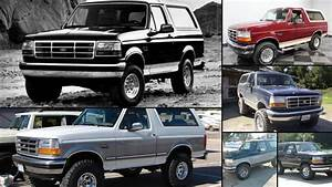 Ford Bronco - All Years and Modifications with reviews, msrp, ratings with different images