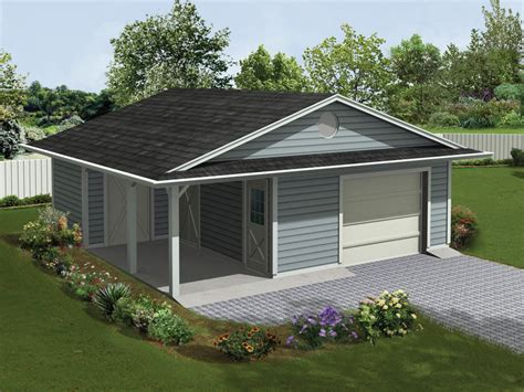 jaceycrest garage with porch plan 107d 6004 house plans