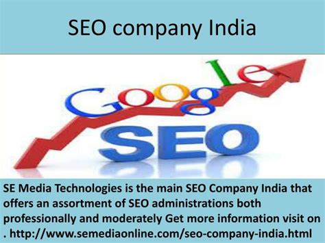 Seo Company Advice ppt best seo company india tips to choose one