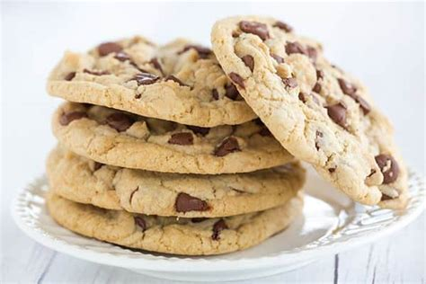 thick  chewy chocolate chip cookies brown eyed baker