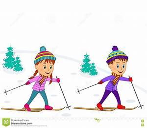 Kids Skiing Clipart | www.pixshark.com - Images Galleries ...