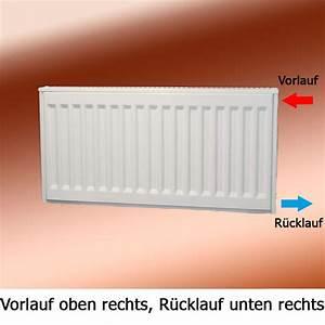 Heizkörper Vorlauf Rücklauf Anschluss : radiator heizk rper kaufen buderus kompakt heizk rper typ 33 von ~ Orissabook.com Haus und Dekorationen