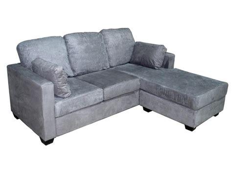 canapé d angle gris et blanc pas cher canapé d angle convertible conforama