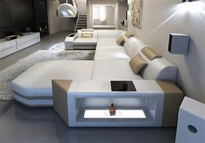 Wohnlandschaft Xxl L Form : luxus designersofa aus leder groupon goods ~ Whattoseeinmadrid.com Haus und Dekorationen