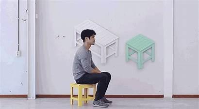 Furniture Flat Pack 6sqft Hung Colorful 2d