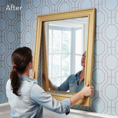 How To Make A Bathroom Mirror Frame by How To Make A Custom Diy Mirror Frame With Moulding