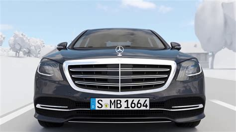 2018 W222 New Mercedes Benz Sclass Facelift  Car To X