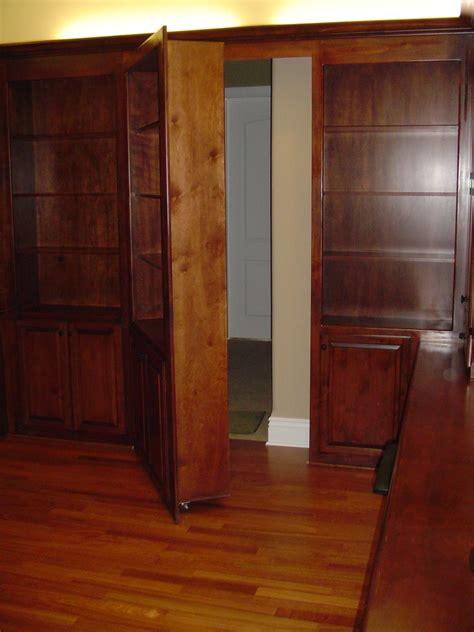 Library With Shelves Desk And Hidden Door Caldwell