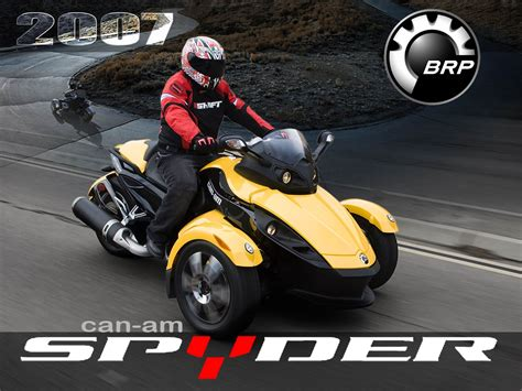 2007 Can-am Spyder Photos