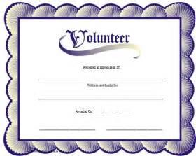 Free Printable Volunteer Appreciation Certificates