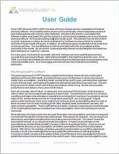 Returns And Inflation Assumptions User Guide