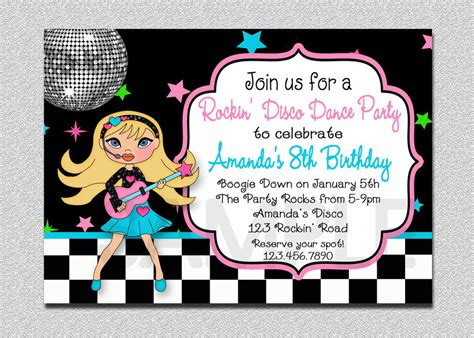 Baby Shower Online Invitation Templates Free by Dance Party Invitation Cloudinvitation Com
