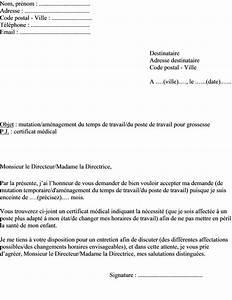 Modèle Changement D Adresse : letter of application modele de lettre changement horaire de travail ~ Gottalentnigeria.com Avis de Voitures