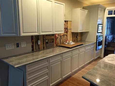 China White with Pewter Pinstripe   2 Cabinet Girls
